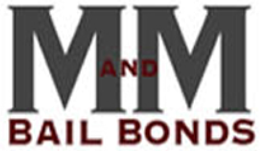 M&M Bail Bonds NJ White Logo
